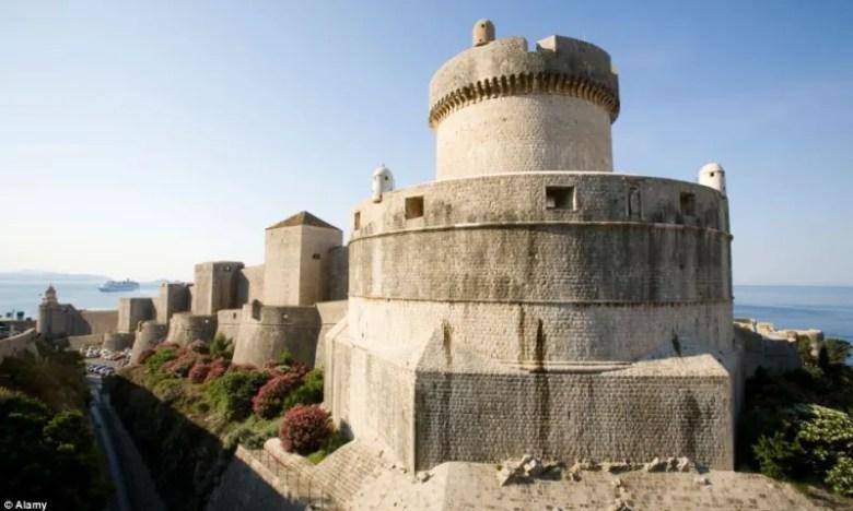 Foto: Alamy // Torre en Dubrovnik, Croacia - Daenerys y la Casa de los Eternos