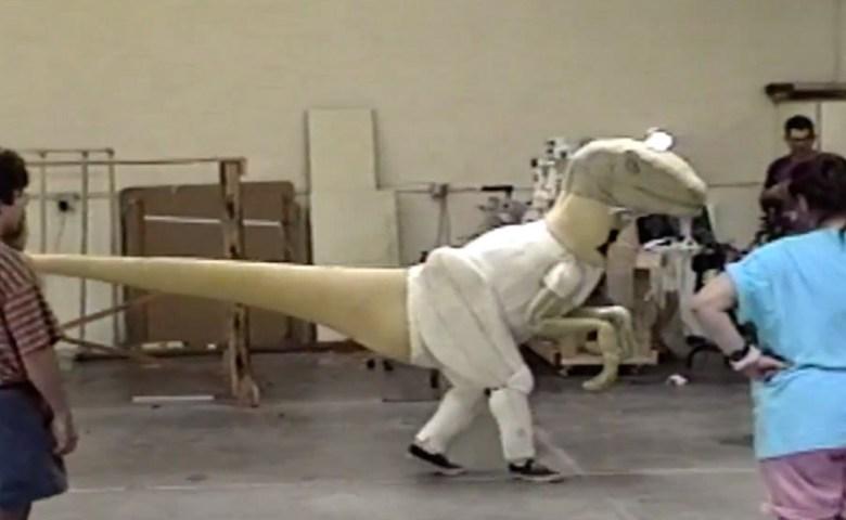 Jurassic Park BTS