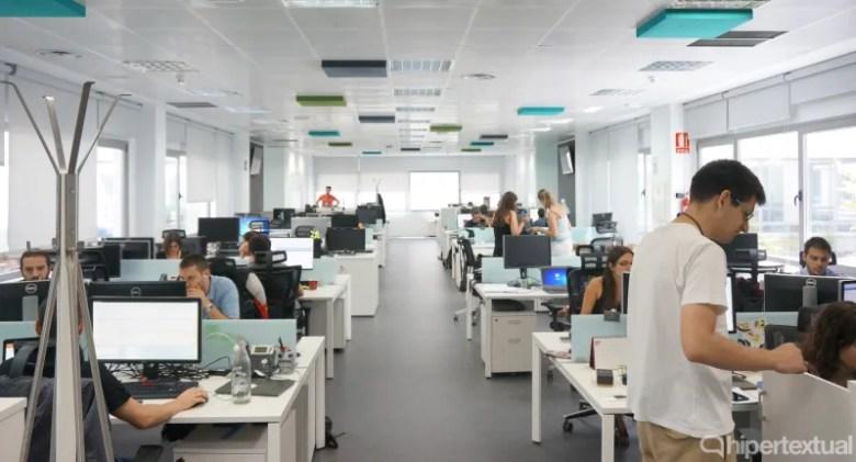 Oficinas de bq en la actualidad.