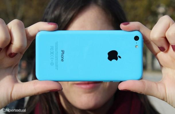 El iPhone 5c de 8GB sólo tiene 4.9GB disponibles. Puede ser un drama.
