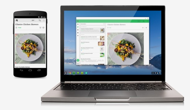 aplicaciones android chrome os
