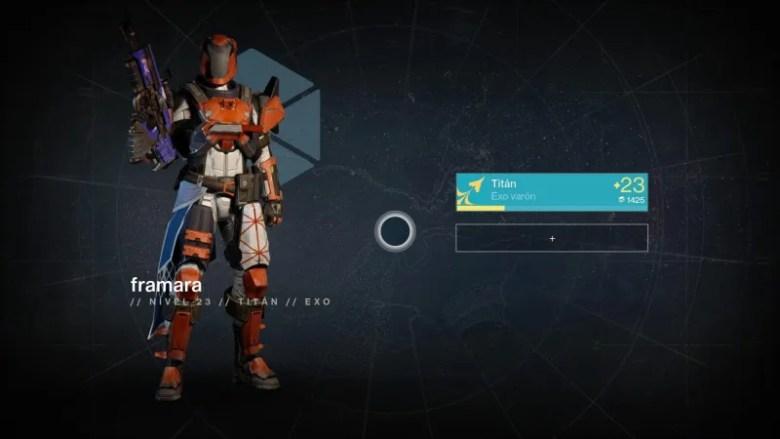 destiny nivel 23