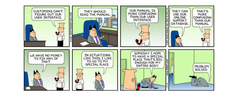 Dilbert y el UX