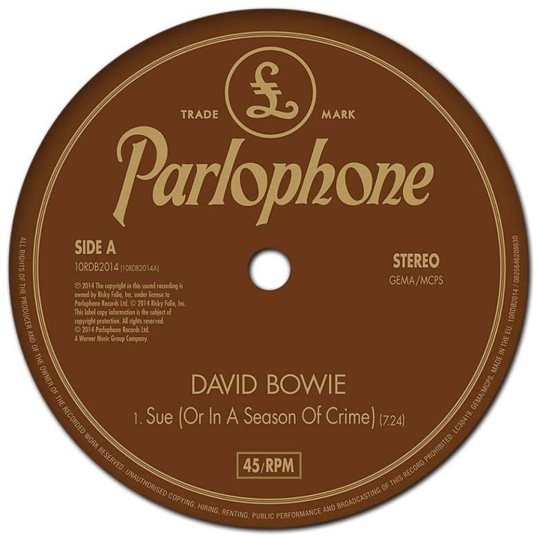 david bowie Sue (Or In A Season Of Crime)