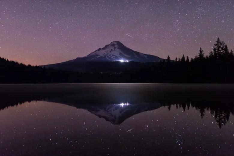 Bosque Nacional Mount Hood, en Oregon. Foto de Kenji Yamamura. National Geographic Photo Contest