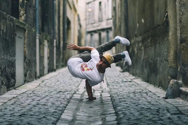 Breakdance. Foto de William Kerdoncuff. National Geographic Photo Contest