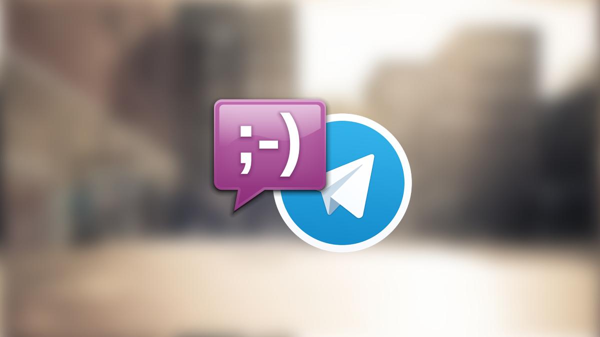 telegram purple