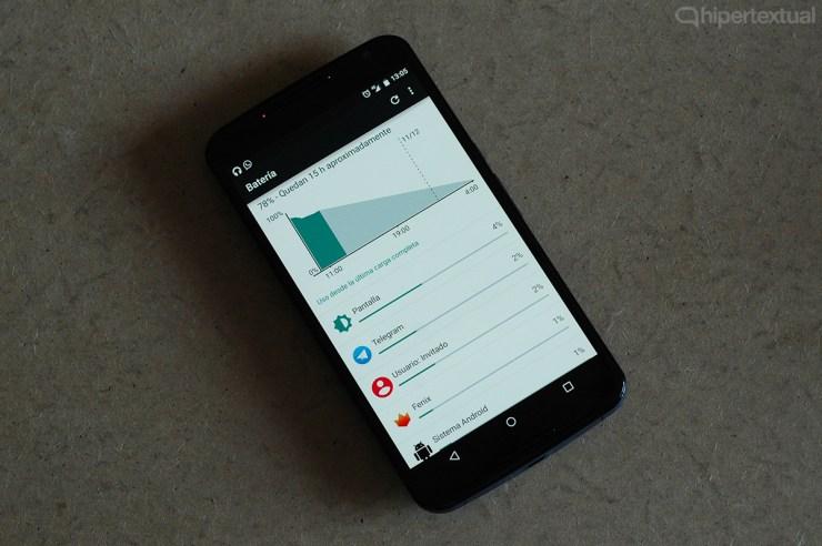 Nexus 6 autonomía