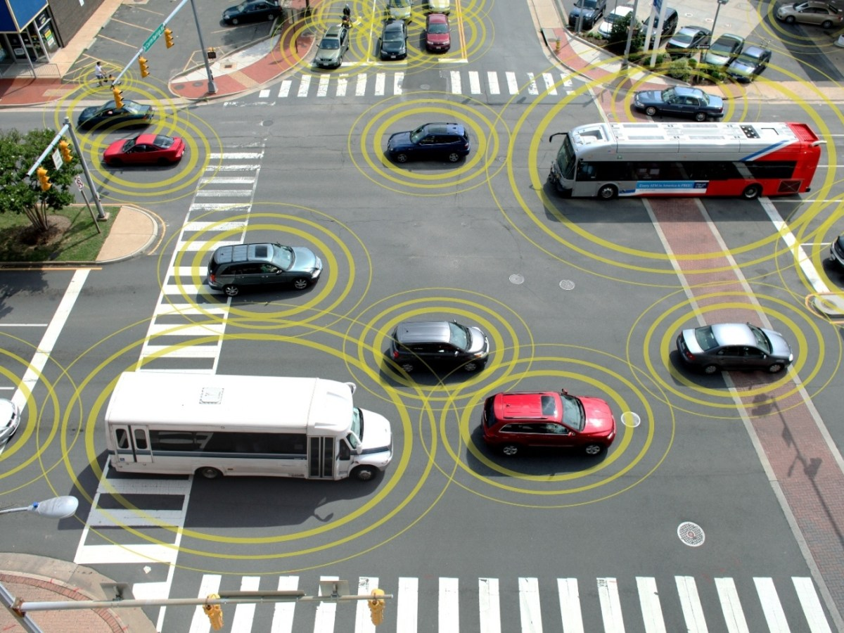 primeras pruebas de comunicación entre coches