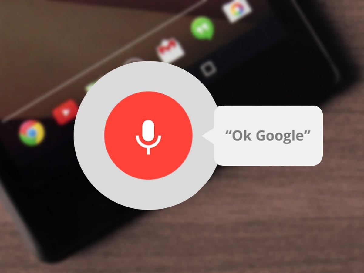 Los comandos de voz más útiles para usar Ok Google en Android