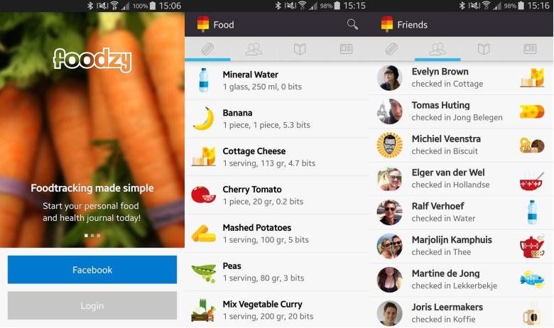Aplicaciones para una dieta saludable