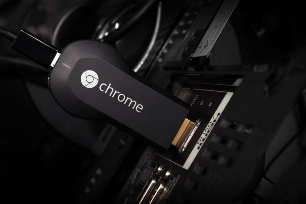 crear centro multimedia chromecast
