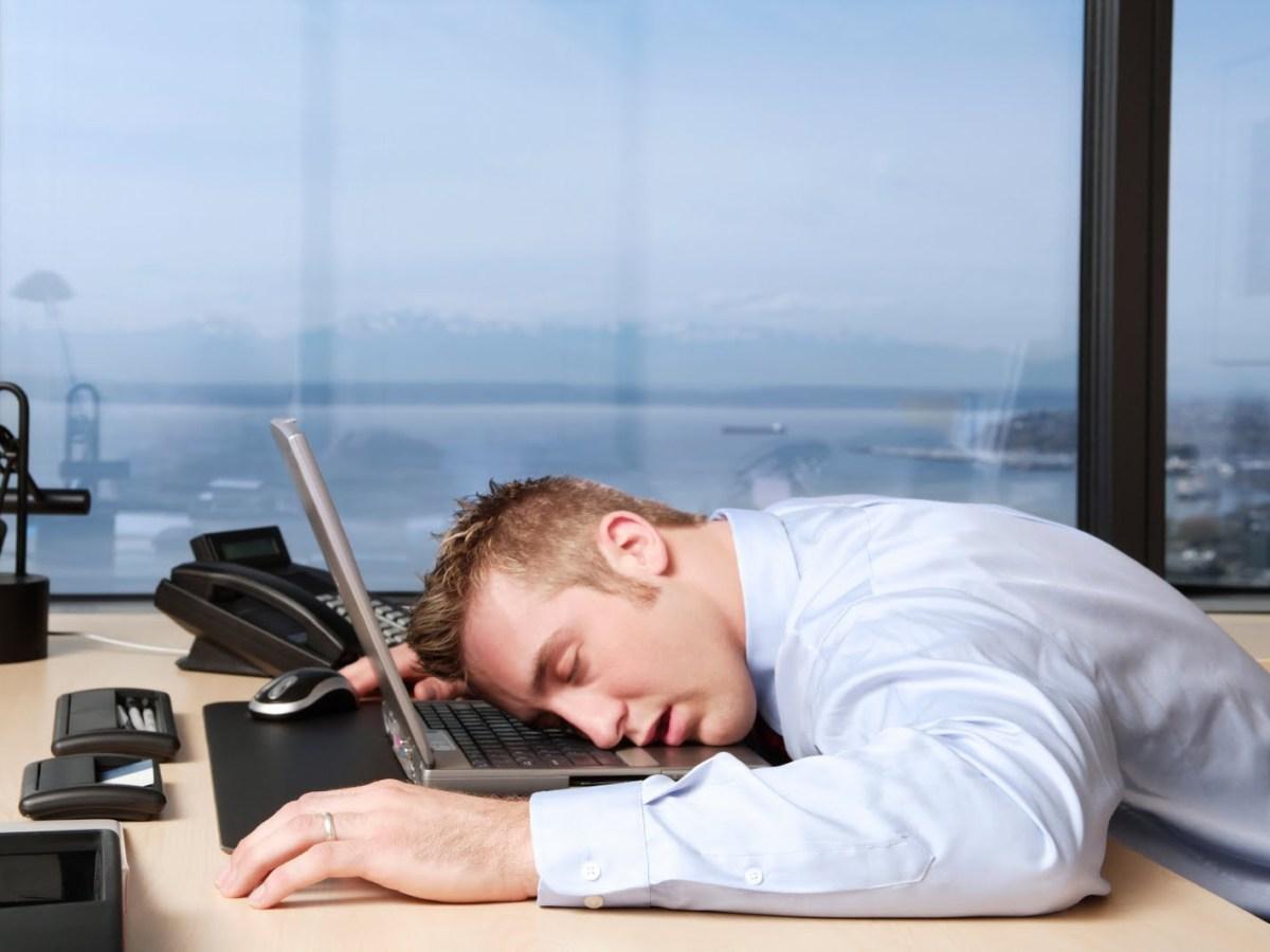relajarse en el trabajo