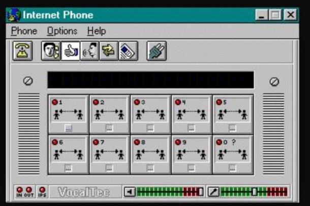 vocaltec internet phone