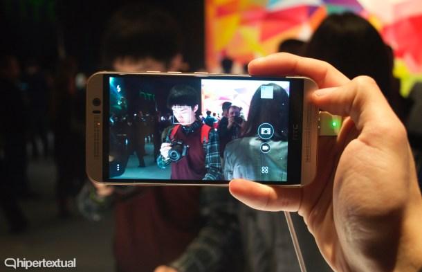 La cámara es una de las grandes promesas de este HTC One M9. Más megapixeles, mejor sensor y un software mejorado. A priori, promete.