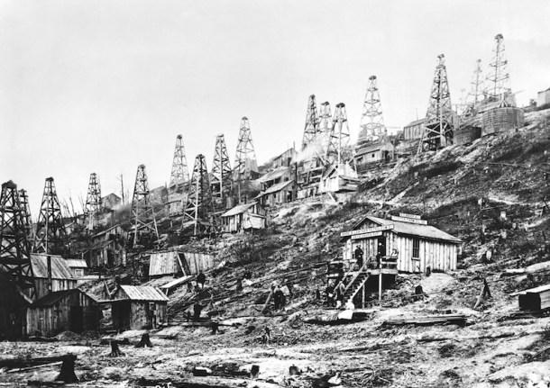 """El oeste de Pensilvania durante la """"fiebre del oro negro"""""""