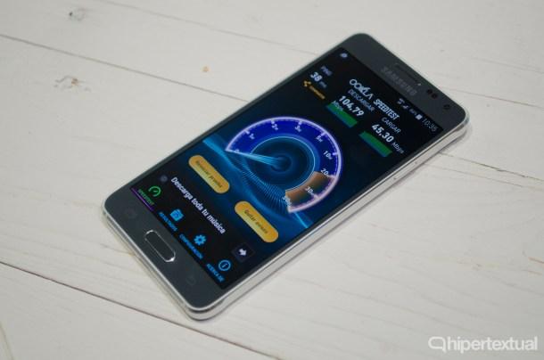 Samsung Galaxy Alpha Carrier Aggregation