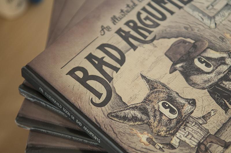 Un libro ilustrado de malos argumentos portada