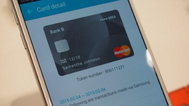 Añadir tarjetas y usarlas es muy sencillo con Samsung Pay.