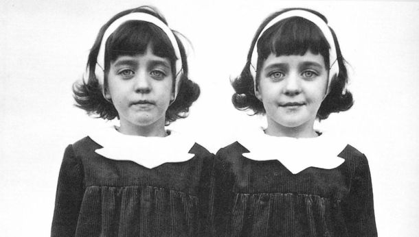 Diane arbus, gemelas