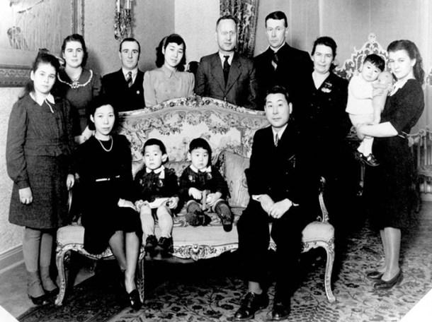 La familia Sugihara, al completo. <a href=