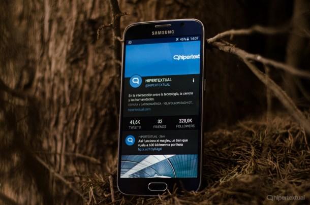 Galaxy S6 hipertextual twitter