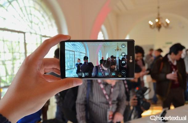 El modo manual permite controlar casi cualquier parámetro que se nos ocurra, algo maravilloso teniendo en cuenta las grandes posibilidades que ofrece la cámara del LG G4.