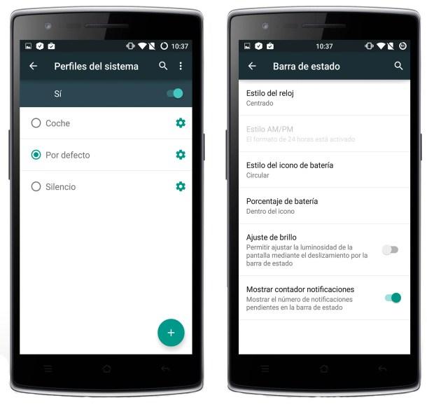 OnePlus personalización