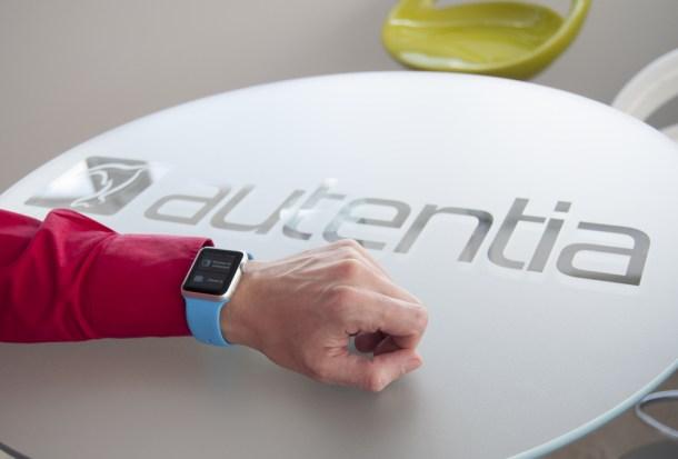 App de Air Europa en Apple Watch desarrollada por Autentia