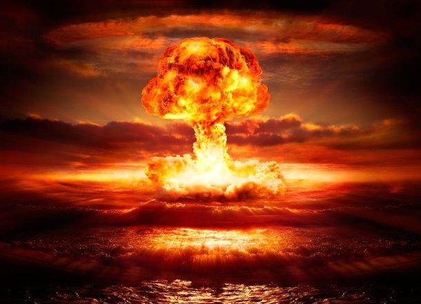 explosión atómica