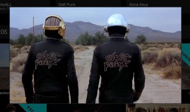 Vídeo de Daft Punk en exclusiva para Tidal.