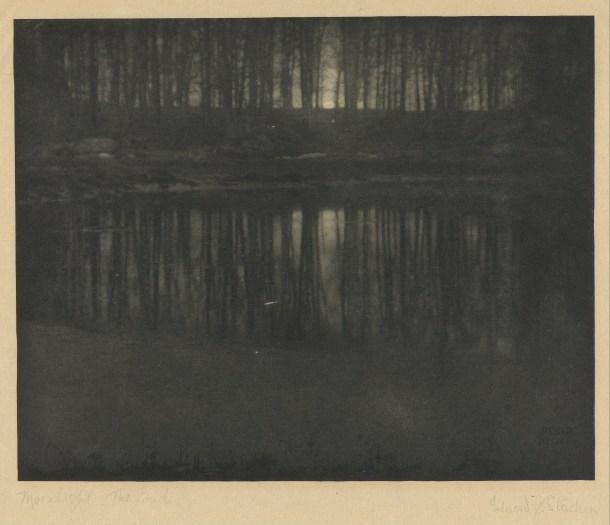 9. The Pond Moonlight  Edward Steichen
