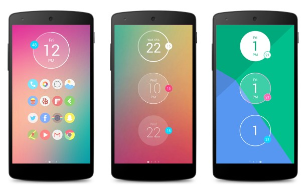 Widgets Minimalistas para Android