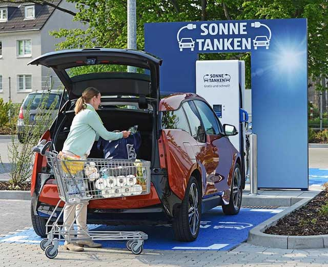 cargar tu coche eléctrico gratis