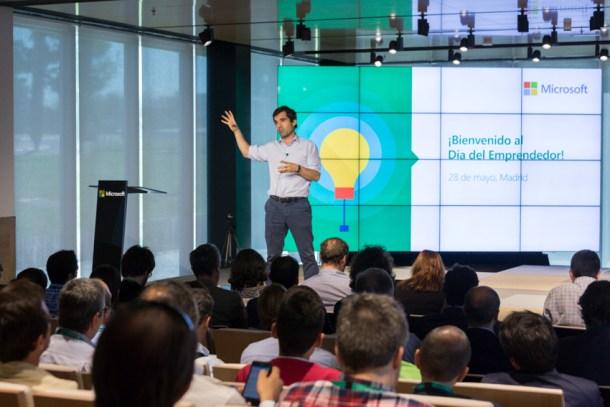 Iñaki Arrola - El Día del Emprendedor en Microsoft Ibérica