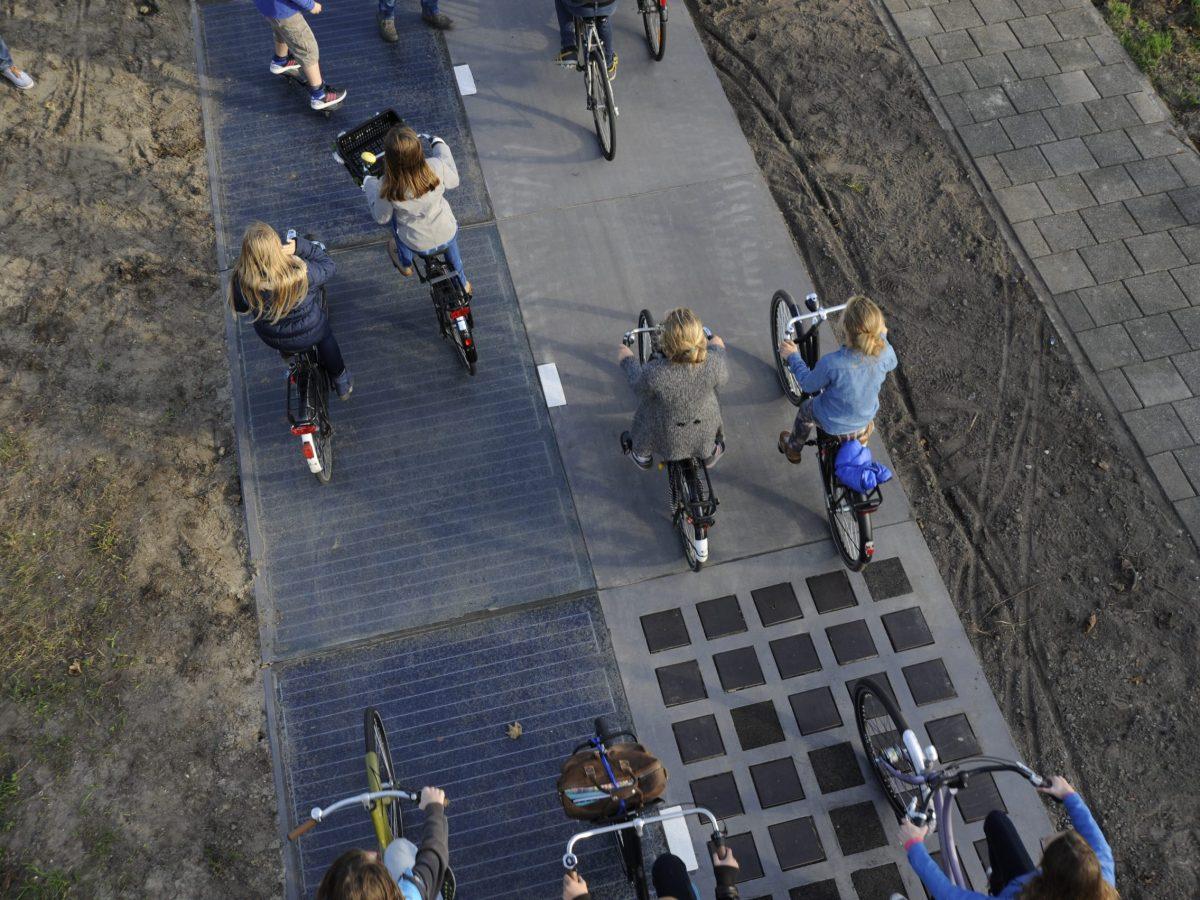 Bicicletas circulando