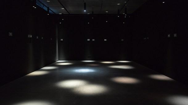 Exposición de Jim Campbell, Ritmos de luz, en Espacio Fundación Telefónica