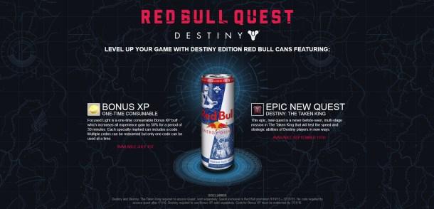 Destiny Red Bull