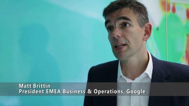 Matt Brittin, principal responsable de las operaciones de Google en Europa. <a href=