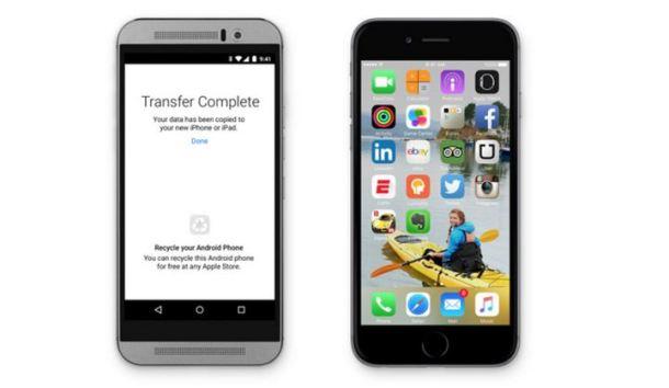 Con Move to iOS, el salto hacia el smartphone de Apple será rápido y sin ningún tipo de molestia.