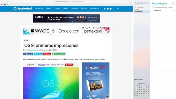 Novedades OS X EL Capitan 12