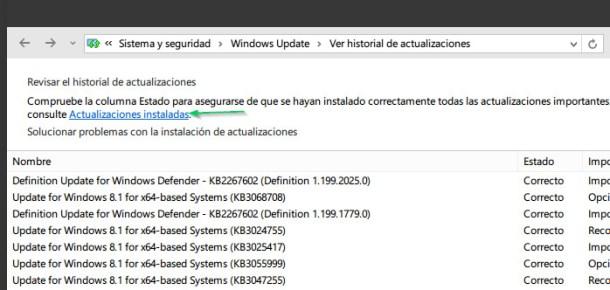 icono de actualización a Windows 10