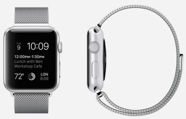 correa milanesa apple watch