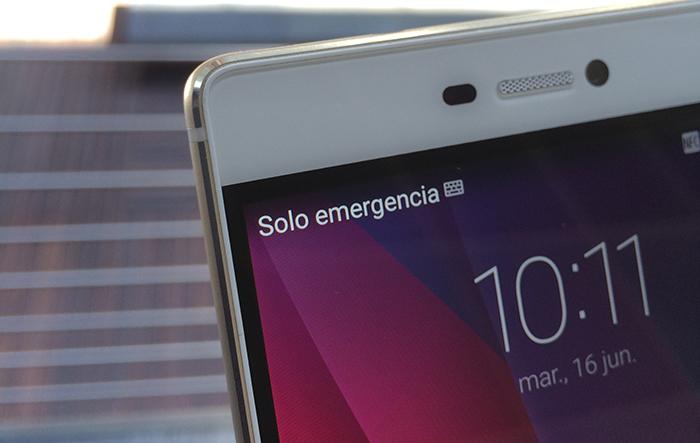 Detalle de los marcos - Huawei P8