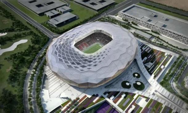 The Guardian Proyecto de estadio en Catar