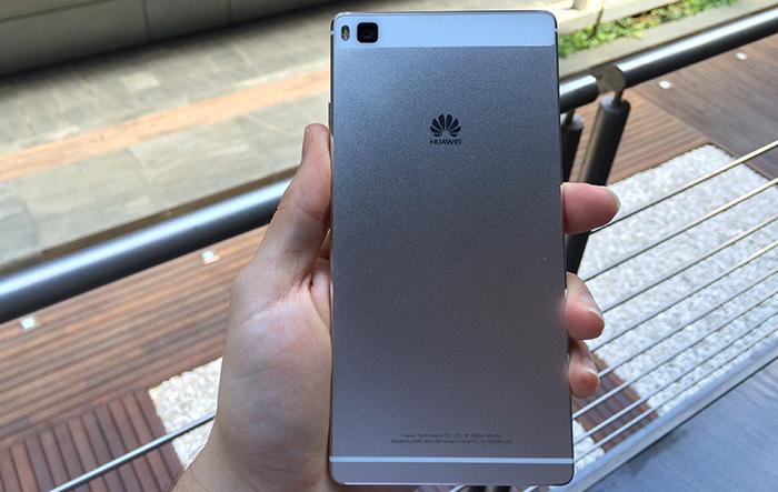 Parte trasera del Huawei P8