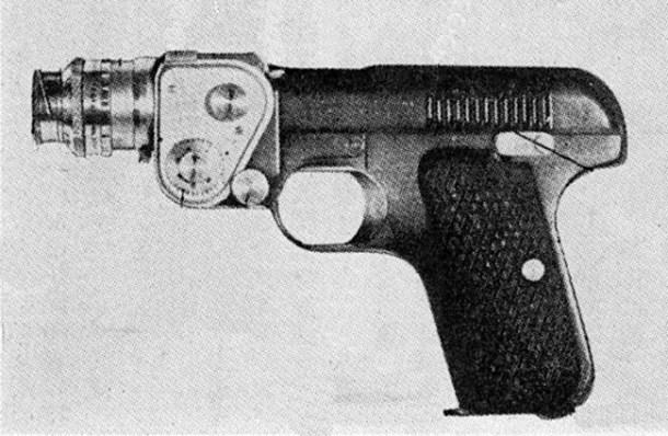 Doryu 2-16 camara pistola