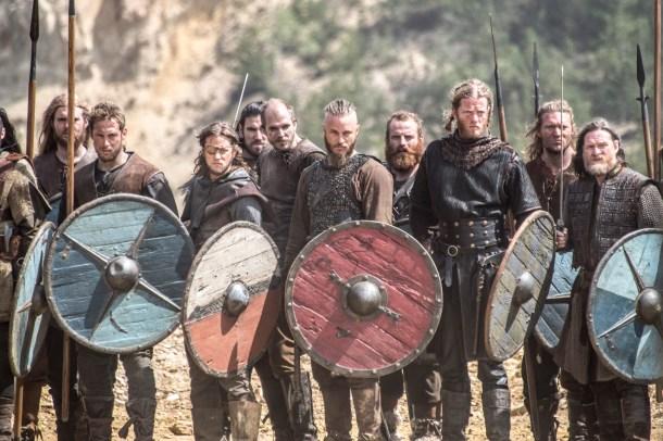 Acostumbraos a esta imagen: las batallas en Vikings son prácticamente episódicas. <a href=