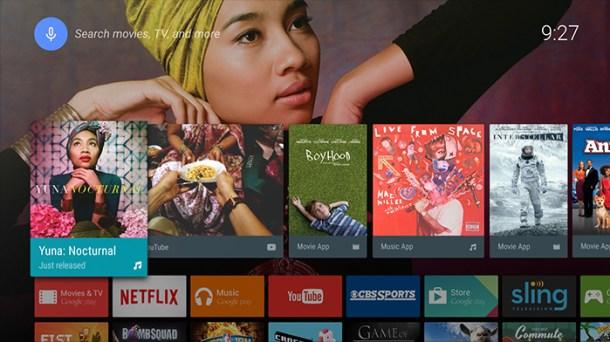 Android TV, disponible en los nuevos modelos de Sony