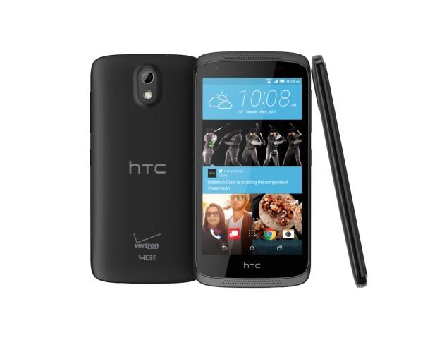 HTC Desire 526, con líneas que recuerdan a modelos anteriores de la gama Desire así como a smarpthones míticos como el One X.